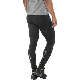 Salming Logo 2.0 Spodnie do biegania Mężczyźni biały/czarny